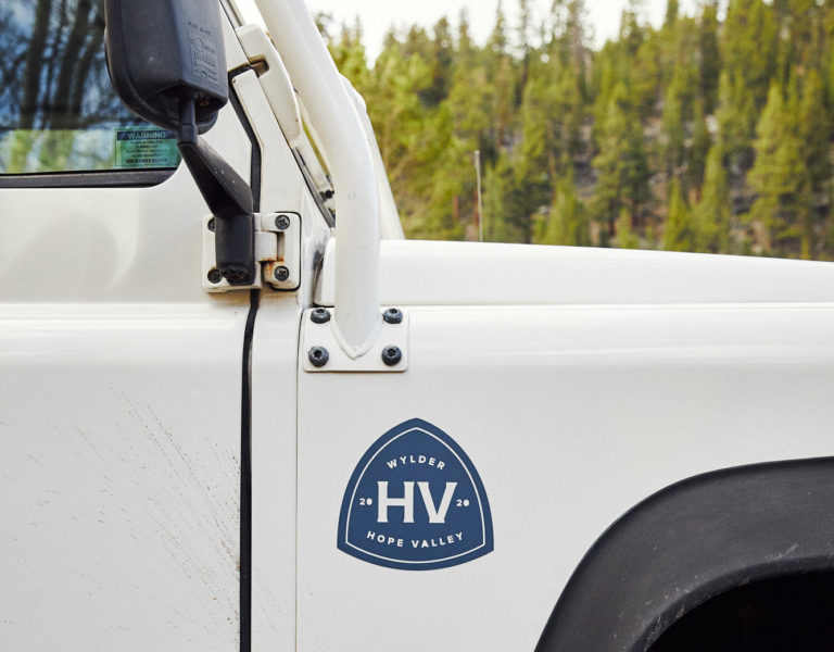 Hope Valley logo on bus