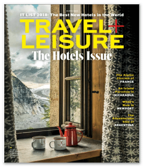 Travel and Leisure cover